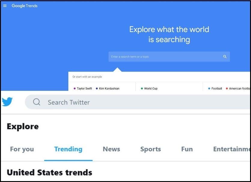 Twitter & Google Trends