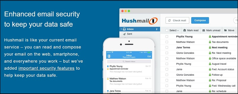 What is hushmail