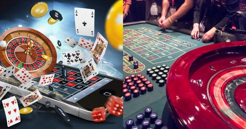 online and land-based casinos