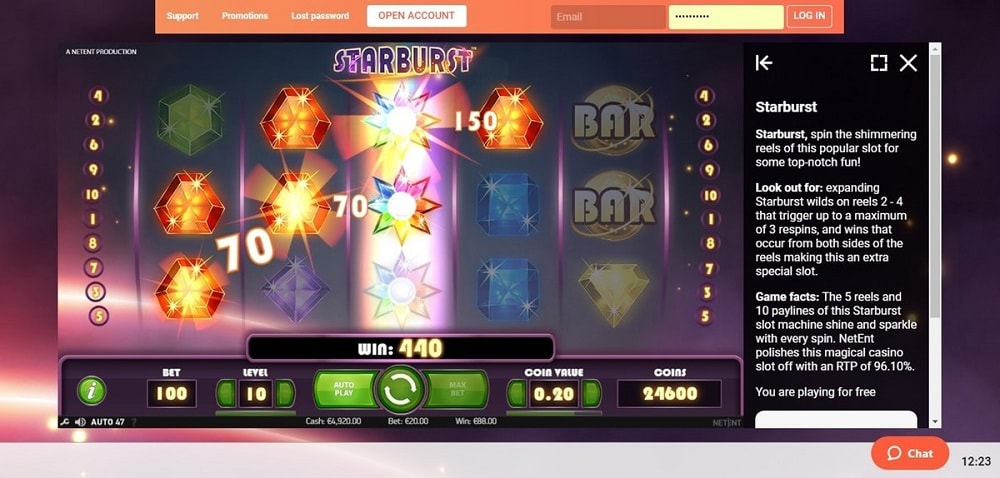 rules terms for online casino