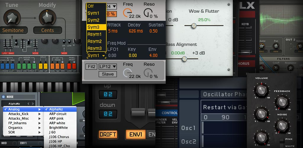 sound synthesis plugins