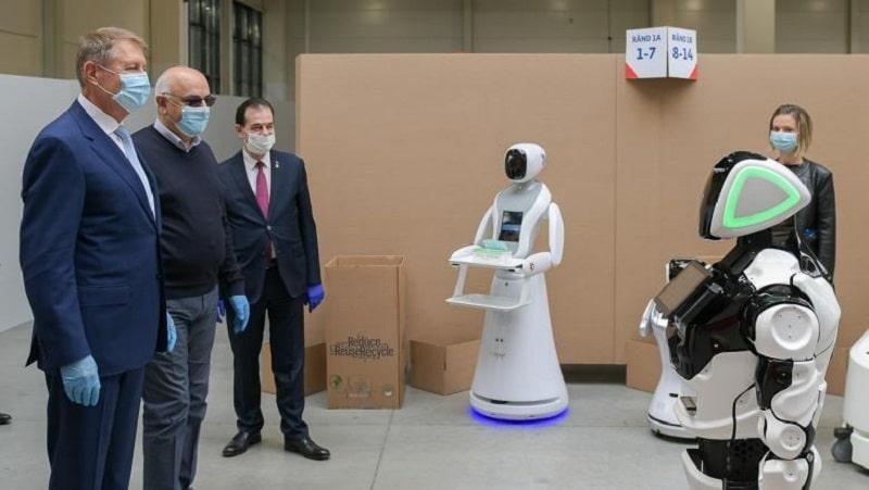 Robotic work in covid 19