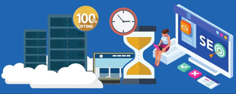 Uptime & Downtime OF Web-Hosting Provider