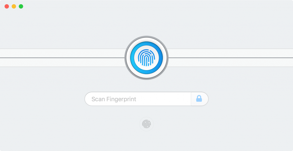 1Password Biometric Function