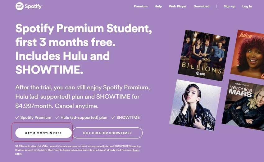 Duration of the hulu Student Discount