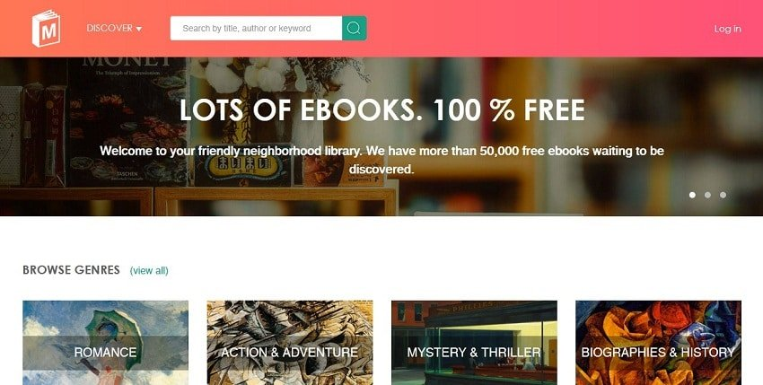 ManyBooks streaming