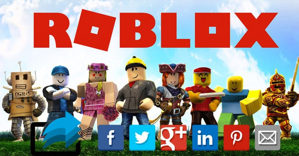 Share Roblox Links