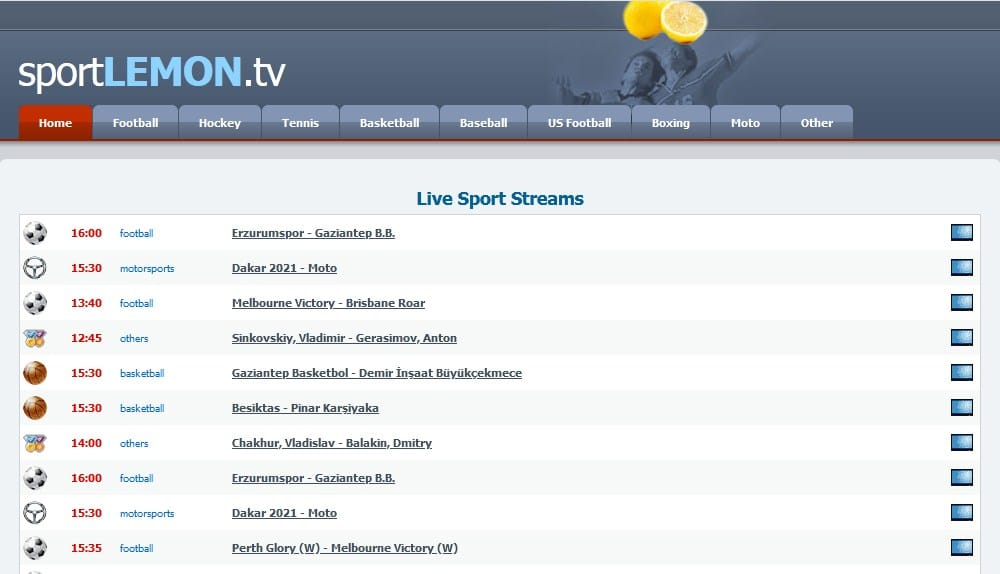 SportLemon streaming