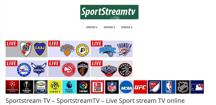 SportStream streaming