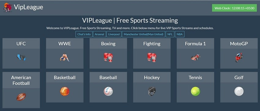 VIPLeague streaming