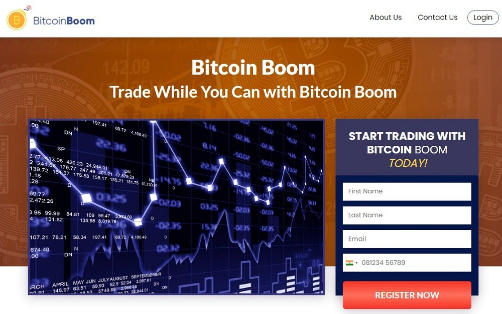 Bitcoins Boom Homepage