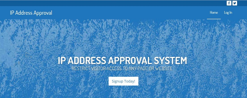 IP Address Approval over view