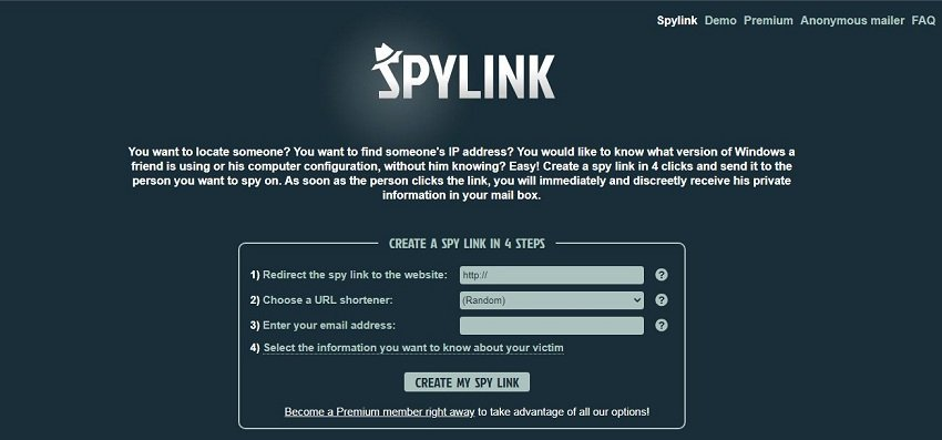 SpyLink over view