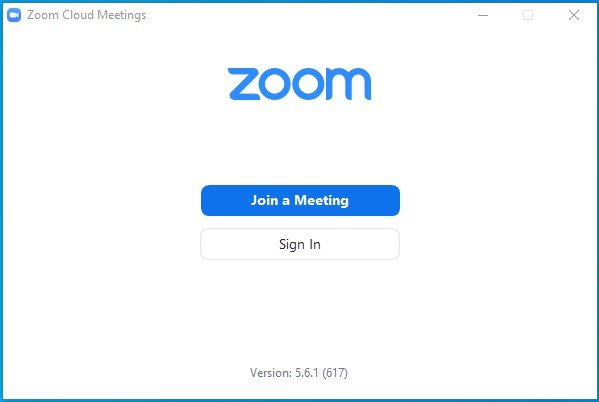 Sign-in zoom web portal