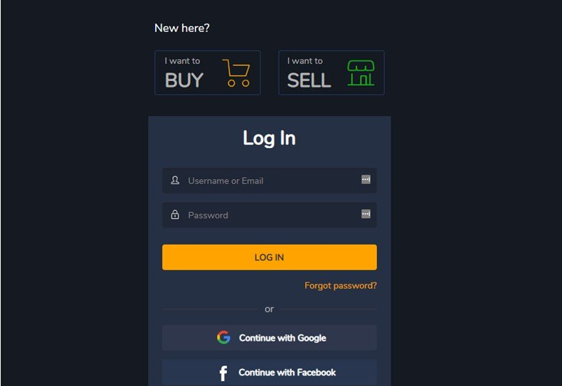 Sell your account now